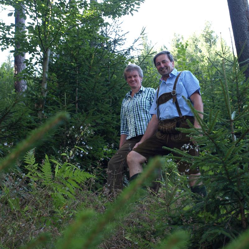 Zufriedene Mitglieder des Waldverbands